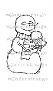 Hungry Snowman_wonderstrange19_watermarked