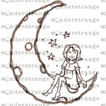 watermark moon girl