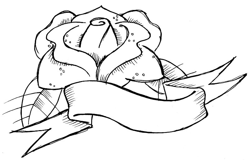 Name Banners Colouring Pages