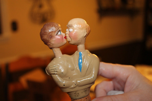 Original Couple Kissing