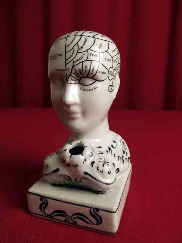 Original 1990s Phrenology Bust