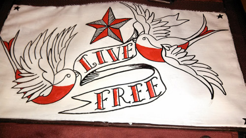 Live Free - First Strokes