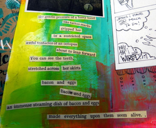 Found poetry for Journal52 - Don't even ask.