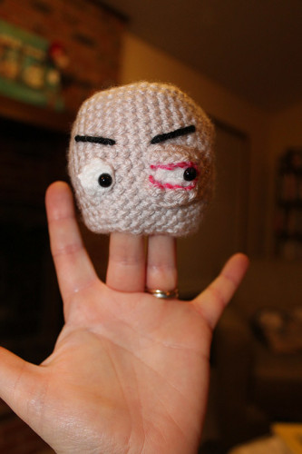 Jack's Head with One Pink Eye