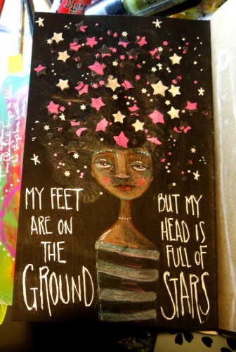my head is full of stars