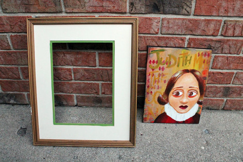 Frame and Canvas