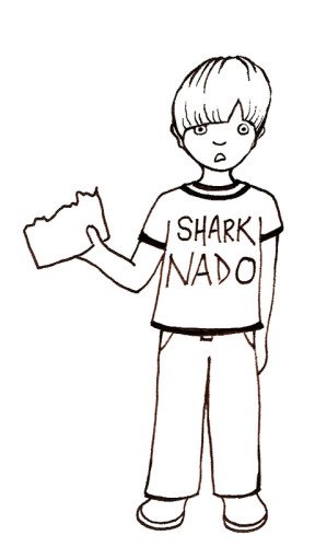 Shark Ate My Homework_wonderstrange