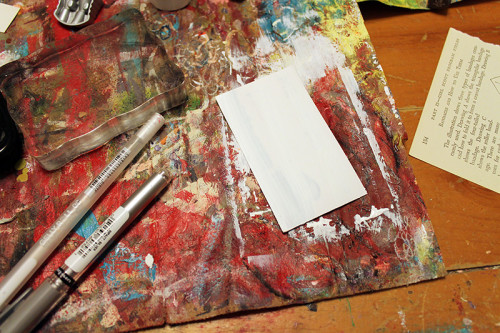 2 Magnet with Gesso