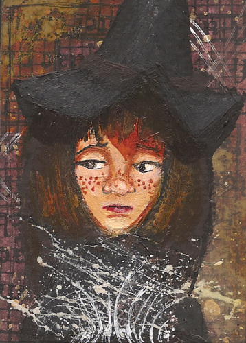 Masterboard - Freckled Witch