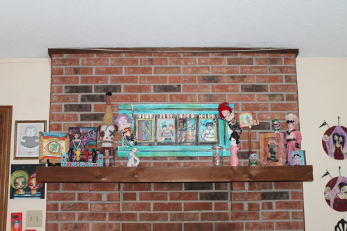 12 On Mantle - Far